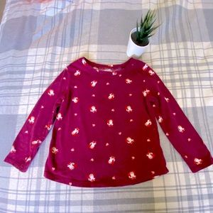 Old Navy Long Sleeve Fox 🦊 Shirt